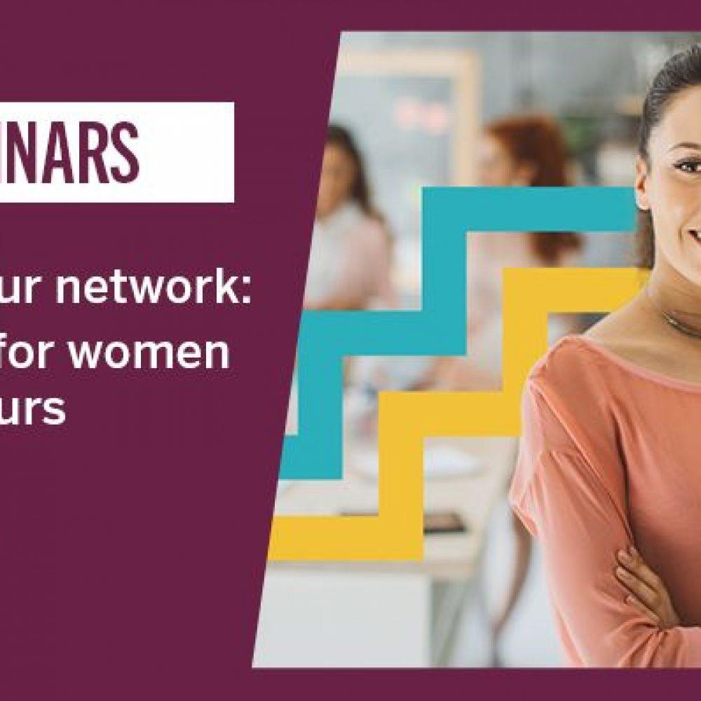 """EXPORT DEVELOPMENT CANADA-EDC / """"Building your network: Strategies for women entrepreneurs / Construire votre réseau : Stratégies pour les femmes entrepreneures """", Wednesday, October 27, 2021 from 1 to 2 p.m. ET."""