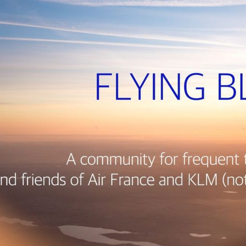 """France KLM FlyingBlue partners with Points … / Air France KLM FlyingBlue s'associe à Points …"""""""