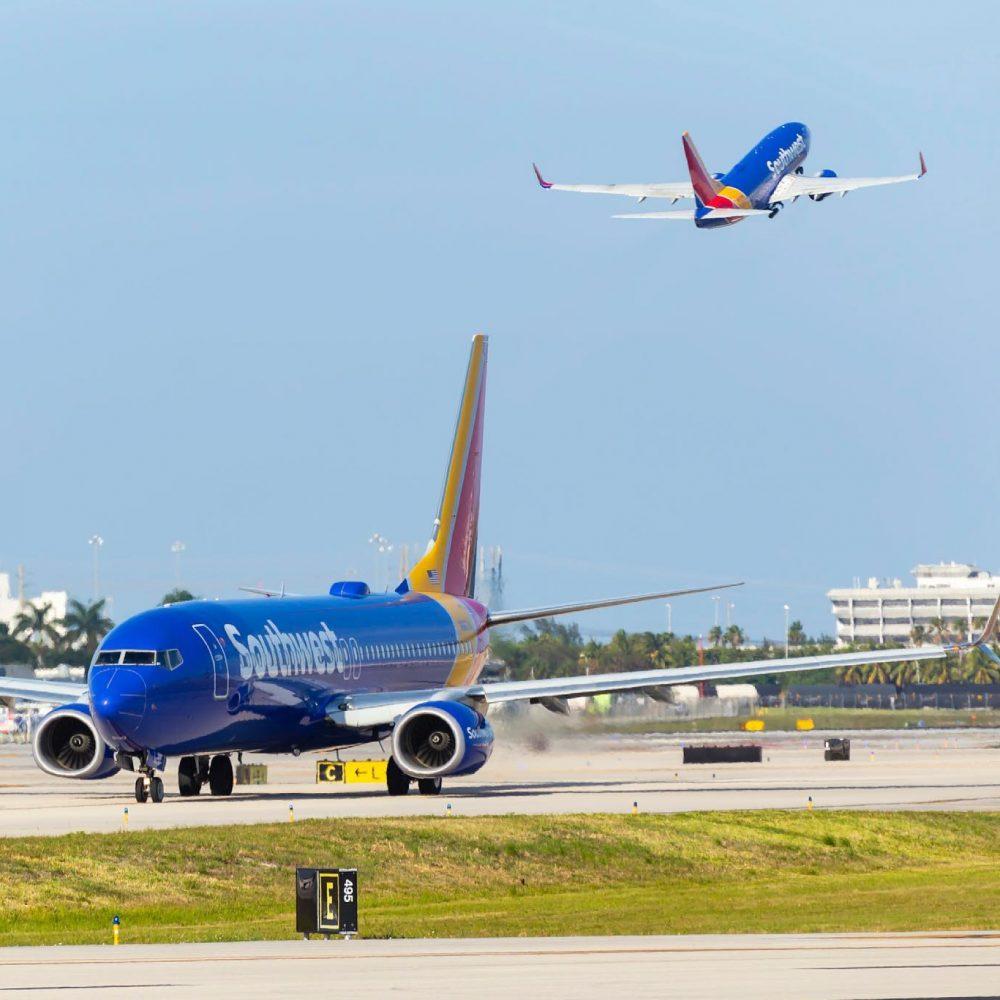 """Southwest Airlines Rapid Rewards – Points : """"Southwest Airlines' frequent flyer program partners with Points / Le programme de fidélisation de Southwest Airlines s'associe à Points"""""""