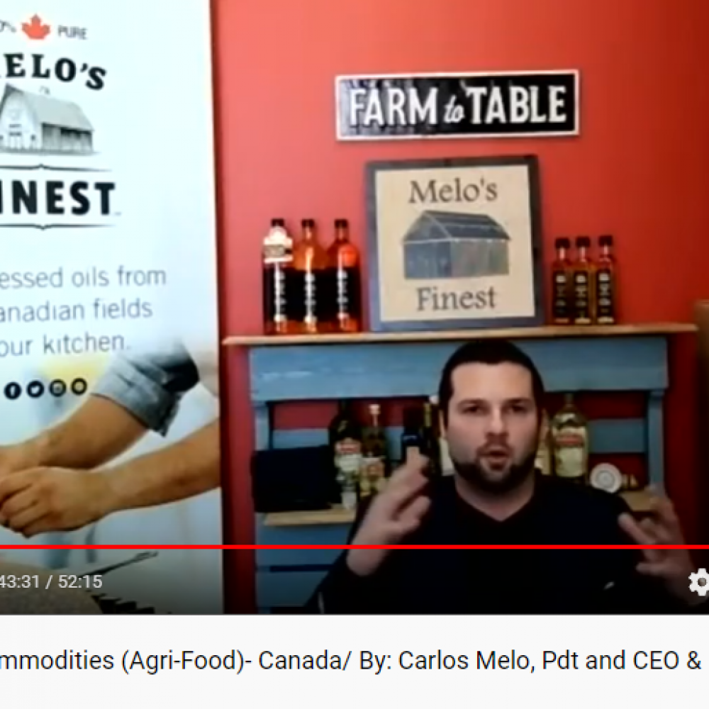 46th show/guest (Rebroadcast): M&C Commodities (Agri-Food)- Manitoba/ By: Carlos Melo, President & CEO and Brenden Lawrence, Vice President, Business Development and International Sales – Present.: Junella O., VP&GM