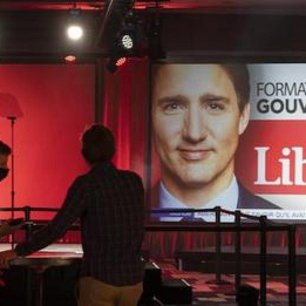 ELECTIONS CANADA-2021 / Le Parti libéral du Canada formera un gouvernement minoritaire à Ottawa (Avec Justin Trudeau)